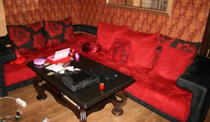 Фирма за пренасяне на ъглов диван