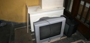 Събиране и изхвърляне на стари телевизори