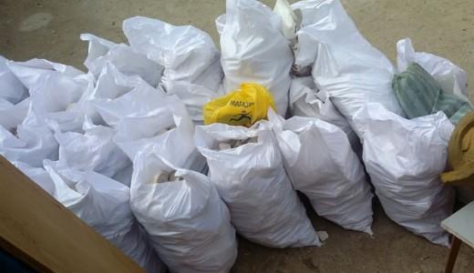 Изхвърляне на дограма и строителен отпадък