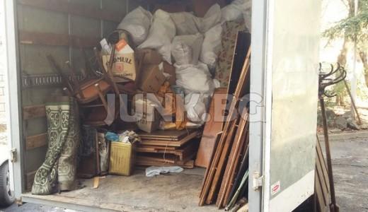 Извозване на отпадъци и непотребни вещи